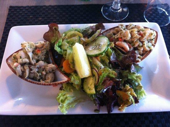 Le Farniente: Salade Poulpes belle sans plus ...