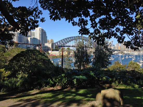 North Sydney Harbourview Hotel: Walked down the hill to Lavender Bay, 10 min's.
