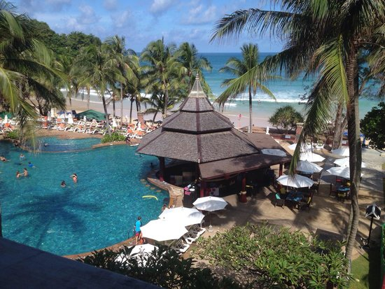 Kata Beach Resort and Spa: View from Room 2315. Brilliant