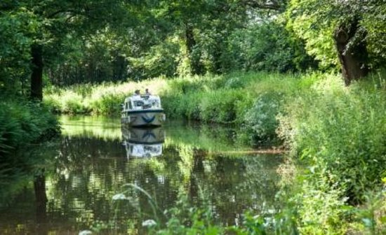 Hawthorns Bed and Breakfast: Cruising along the Brecon canal
