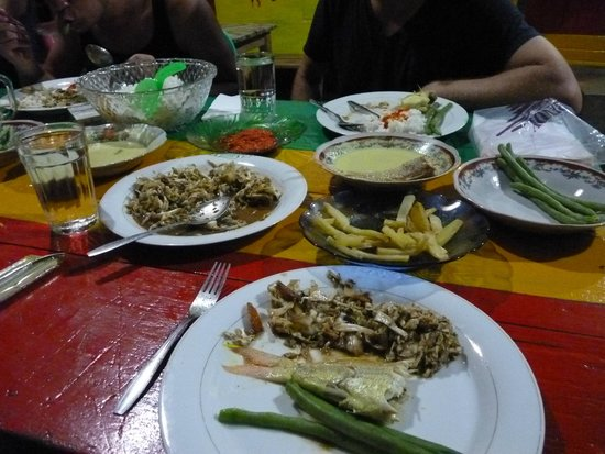 Ricky's Beach House - Authentic Sumatra : les supers repas......