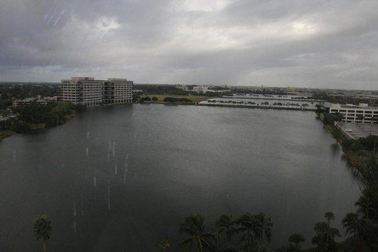 PULLMAN Miami Airport hotel: Foto tirada da janela do quarto