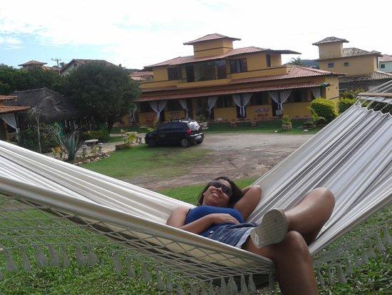 Pousada Sarata: Àrea de descanso na pousada.