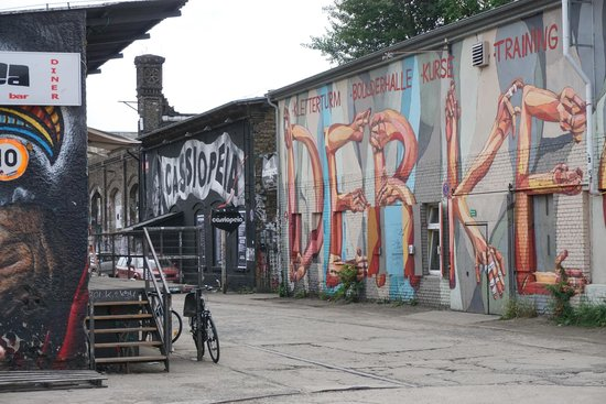 Alternative Berlin Tours: Abandoned Train Depot - Cassiopeia is an alternative nightclub