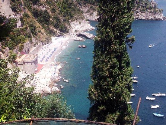 Hotel La Conca Azzurra : Suggestiva spiaggetta a Conca dei Marini