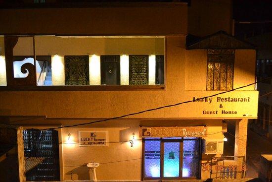 Lucky Restaurant: exterior