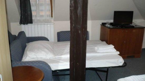 Pension U Lilie: divano letto