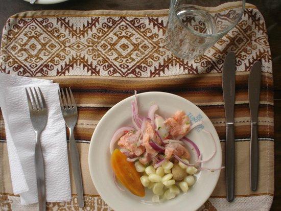 Hotel Las Dunas : Gastronomia típica