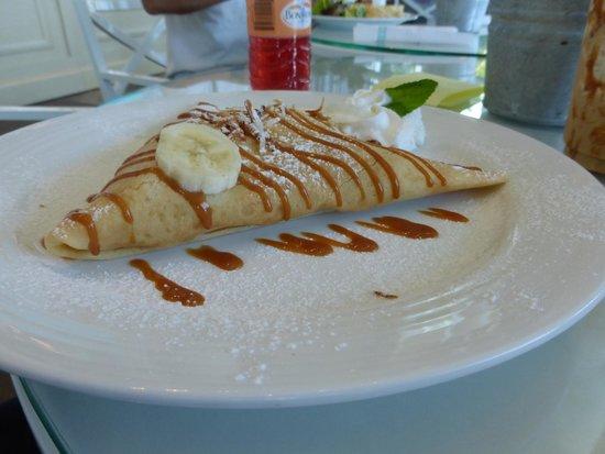 Grand Luxxe Nuevo Vallarta: Le Mexican Crepe at La Plaza crepe restaurant