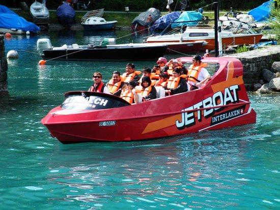 Brienzersee: Jet boat trip