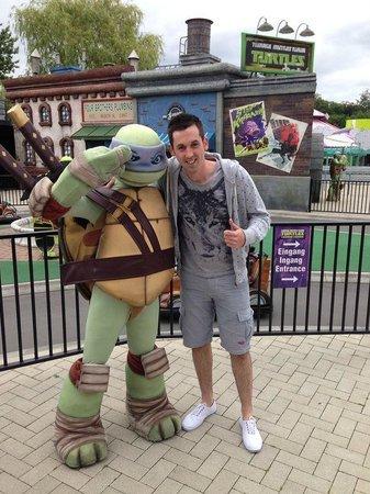 Movie Park Germany: Ninja turtle