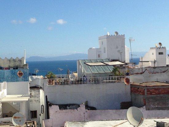 Albarnous Maison d'Hotes: Vue de la terrasse