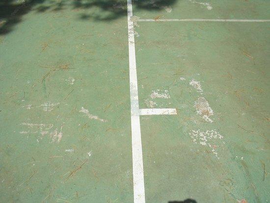 Villaggio Turistico Parco Elena: Campo da tennis
