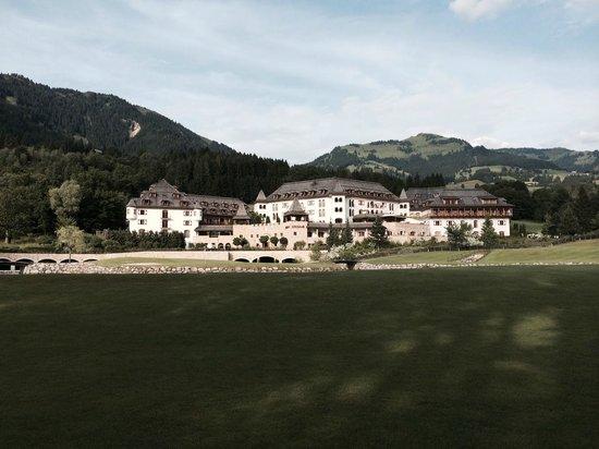 A-ROSA Resort Kitzbühel: Vista dalla club house del Golf