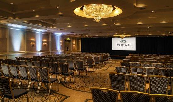 Druids Glen Hotel & Golf Resort: Conference in James Joyce Ballroom