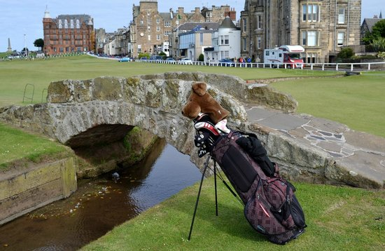 St Andrews Links: And here it is!
