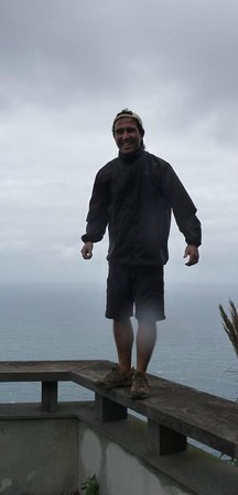 Up Mountain Madeira: Miguel, our jeep driver and guide