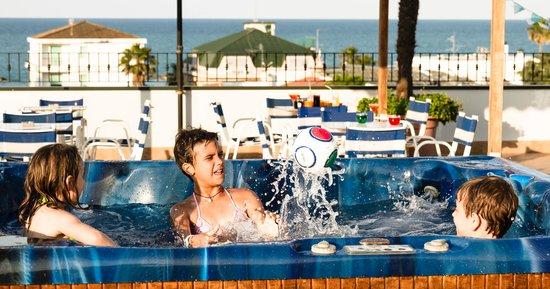 Idromassaggio Terrazza - Picture of Hotel Domingo, San Benedetto Del ...