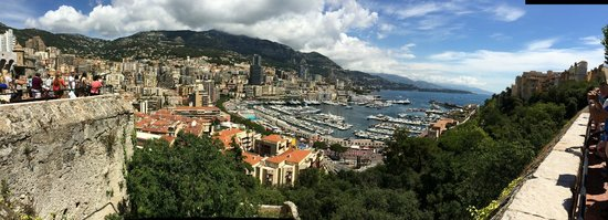 Radisson Blu Hotel, Nice : Monaco from the Royal Palace - wow!