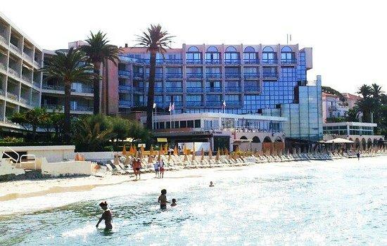 Garden Beach Hotel from the sea