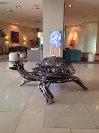 Art exhibition at Hennessy Park Hotel