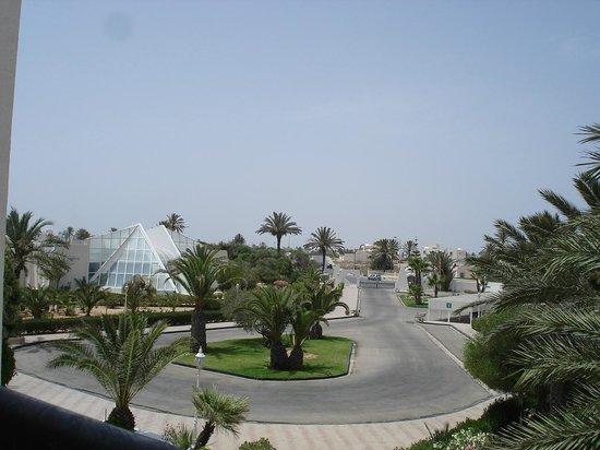 Al Jazira Beach & Spa: vue du balcon de la chambre