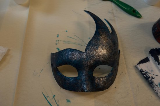 Ca' Macana: One of our own masks - work in progress