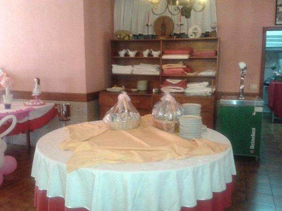 Restaurante La Ermita: Salón de banquetes