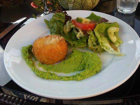 The Croft Restaurant: beloved fishcake