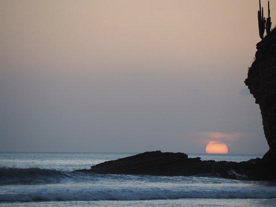 La Veranera - Playa El Coco: Sunset