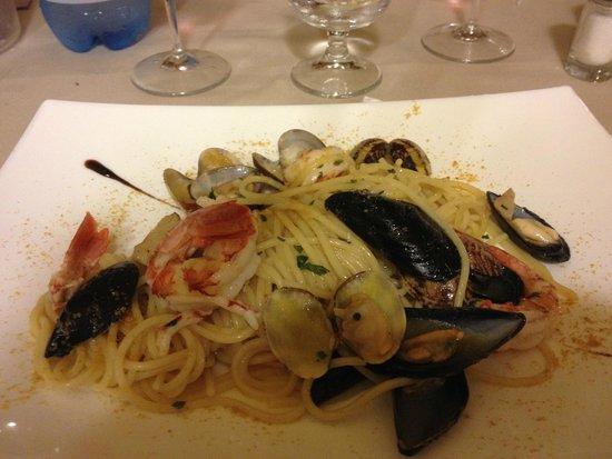 Agrihotel Morada Restaurant: spaghettino allo scoglio