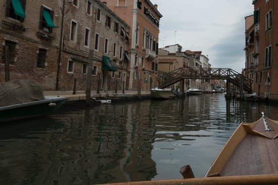 Row Venice: One of the canals we rowed through