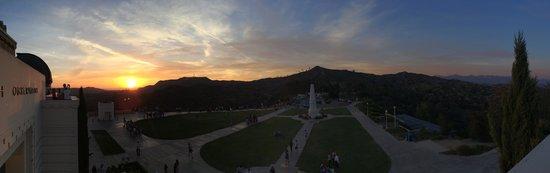 Observatoire Griffith : Sunset