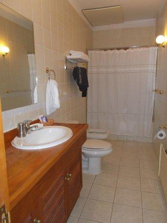 Hotel Malalhue: baño