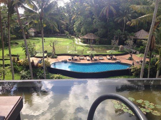 Plataran Ubud Hotel & Spa: Breakfast view