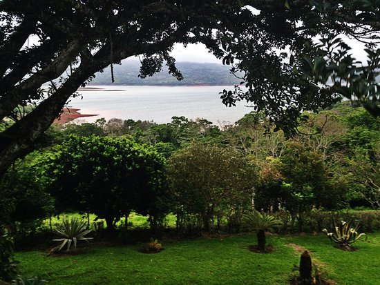Hotel Lago Arenal & Microcervecería: View of the lake from our room