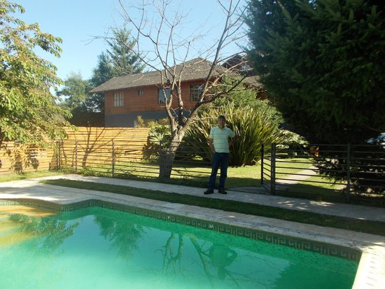 Hotel Malalhue: piscina climatizada