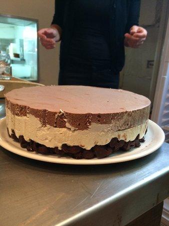 La Place : Croquant aux 3 chocolats!
