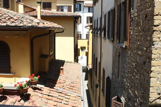 Hotel Berchielli : view from room