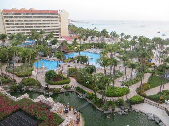 Hyatt Regency Aruba Resort and Casino: View from room 729