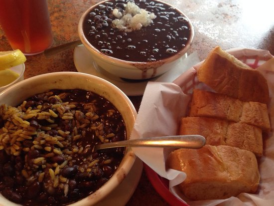 Best black beans ever. - Picture of Cafe Masaryktown, Masaryktown ...