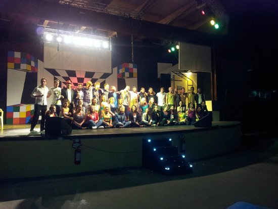 Dream Team Serenusa village 2014 saluti finali