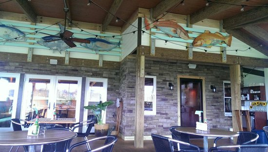 Pangea Tavern: Nice covered patio