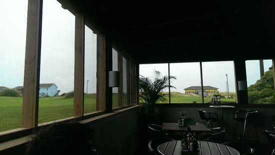 Pangea Tavern: View from the patio.