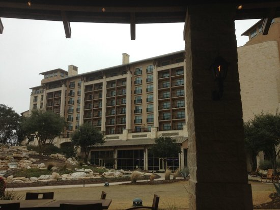 JW Marriott San Antonio Hill Country Resort & Spa: View from Cibolo Moon restaurant
