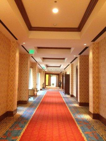 JW Marriott San Antonio Hill Country Resort & Spa: Corridor of hotel