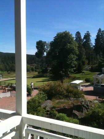 Losby Gods Manor: sight on the balcony of the room