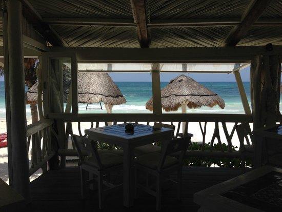 Villa Las Estrellas : view you have while eating