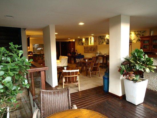 Quinta Azul Boutique Pousada : Lobby