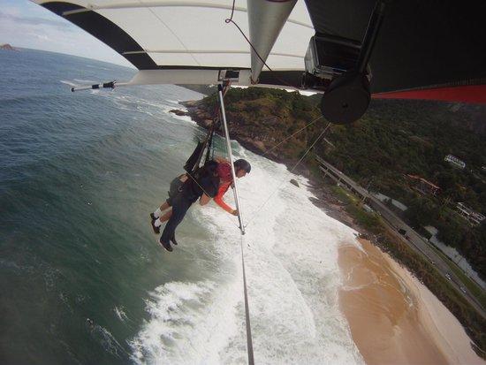 "Rio by Jeep: Circling over São Conrado ""Pepino"" Beach."
